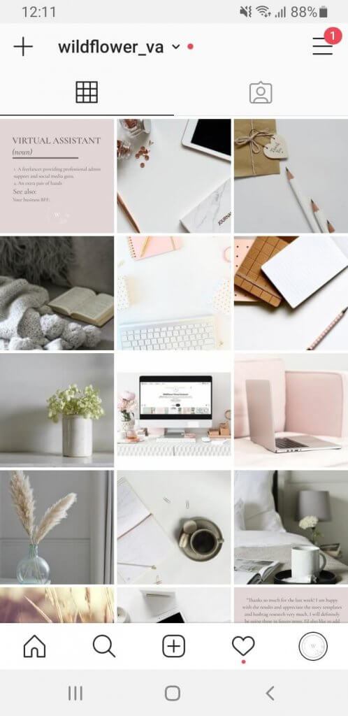 Ideas-for-Instagram-Guides by Wildflower Virtual Assistant Services