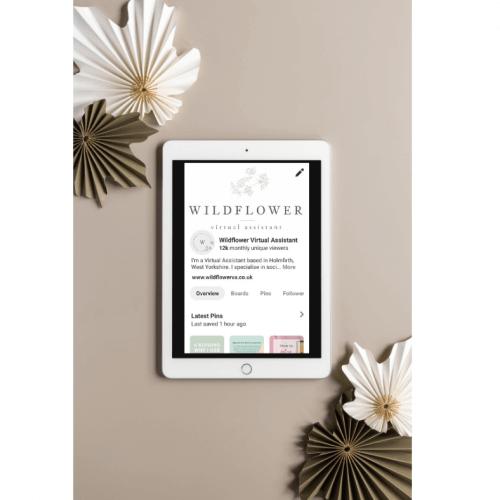 Wildflower VAS Pinterest Management Service