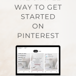 The Simple Way to Get Started with Pinterest - Wildflower Pinterest Management