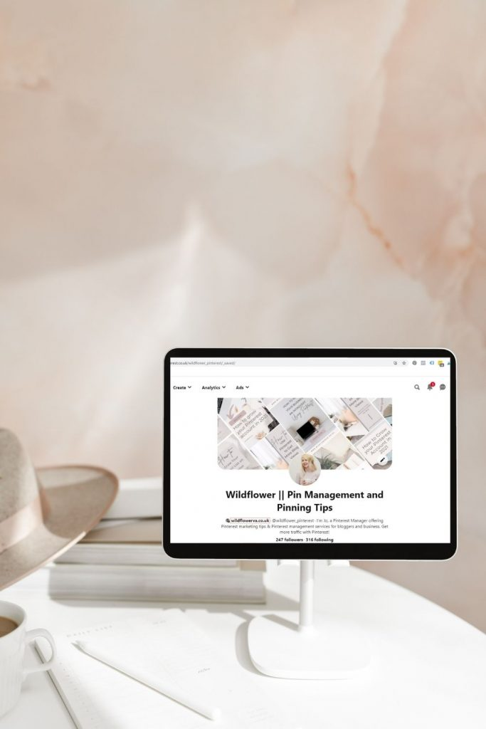 """Promo image for """"5 Reasons Why Your Pinterest Views are Down, and How to Fix It"""" by Wildflower Pinterest Management"""