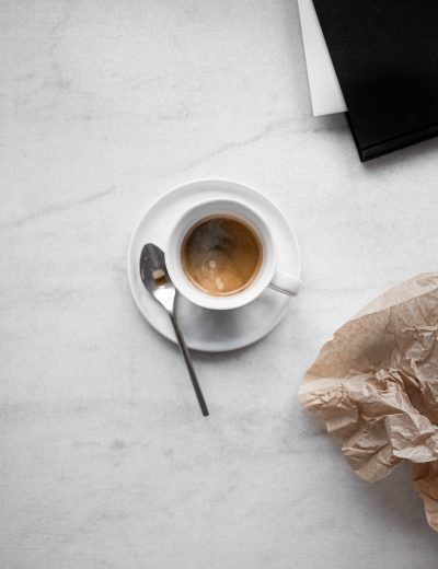 """Promo image for a blog post """"how to make sales without using social media"""" by Wildflower Pinterest Management showing a cup of tea in a white cup"""